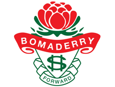 Logo bomaderry high school